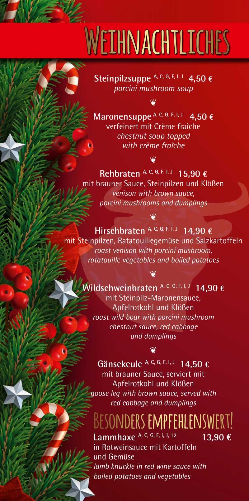 Einleger-Weihnachten